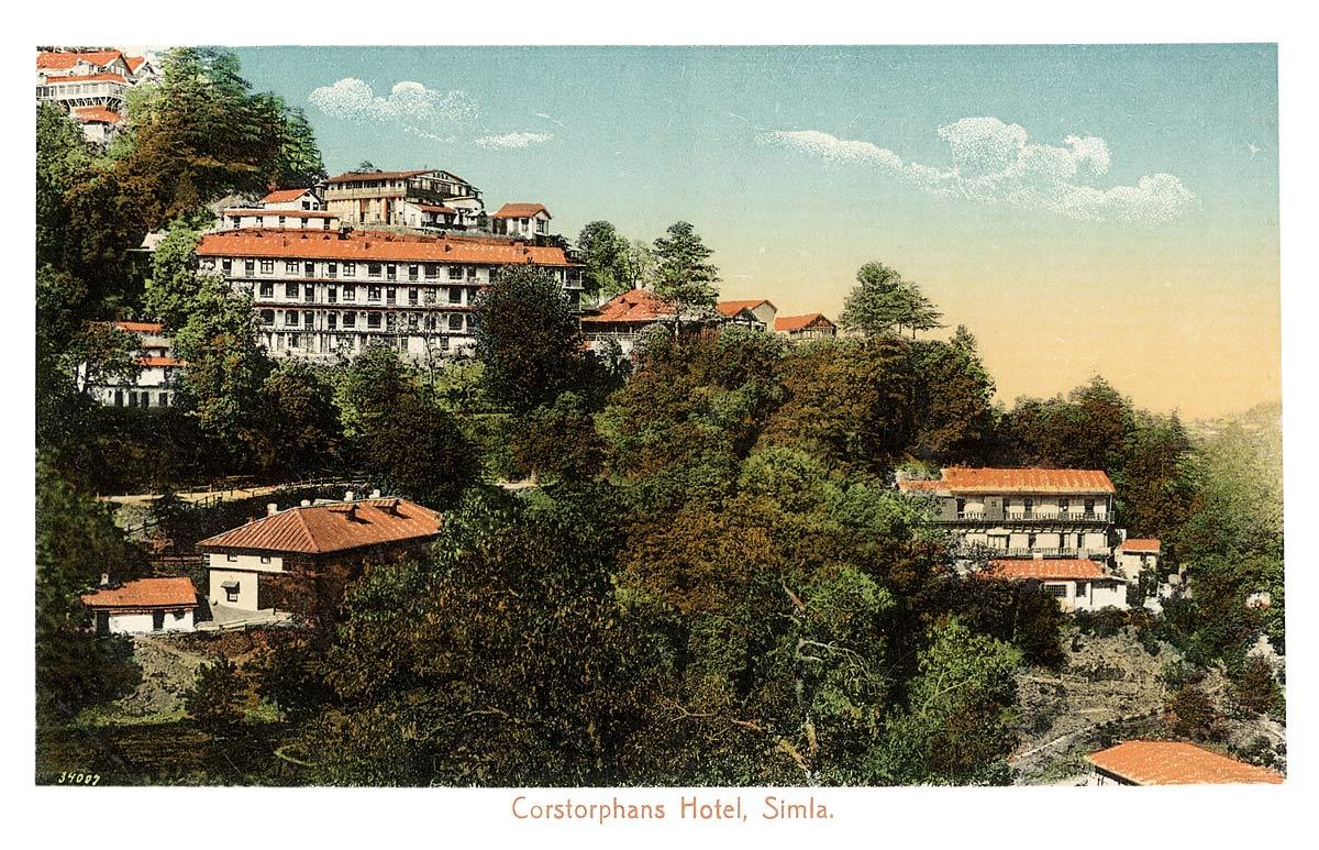 Corstorphans Hotel, Simla