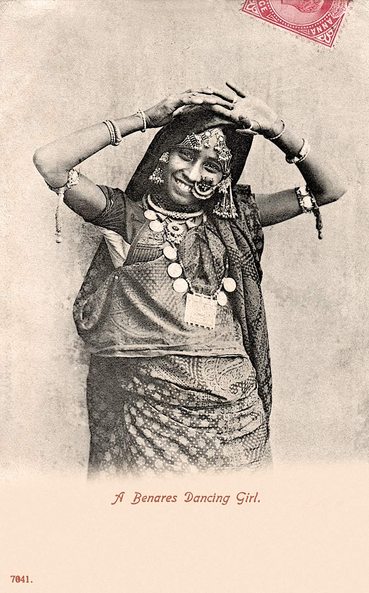 A Benares Dancing Girl