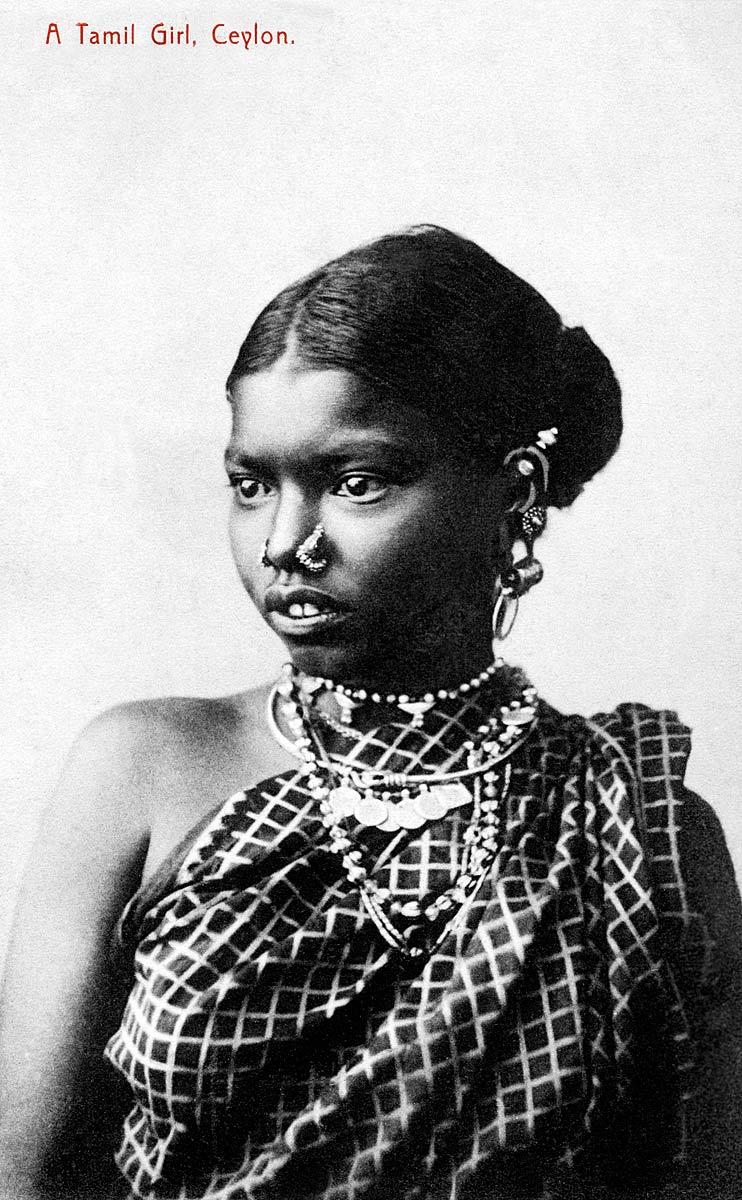 A Tamil Girl, Ceylon