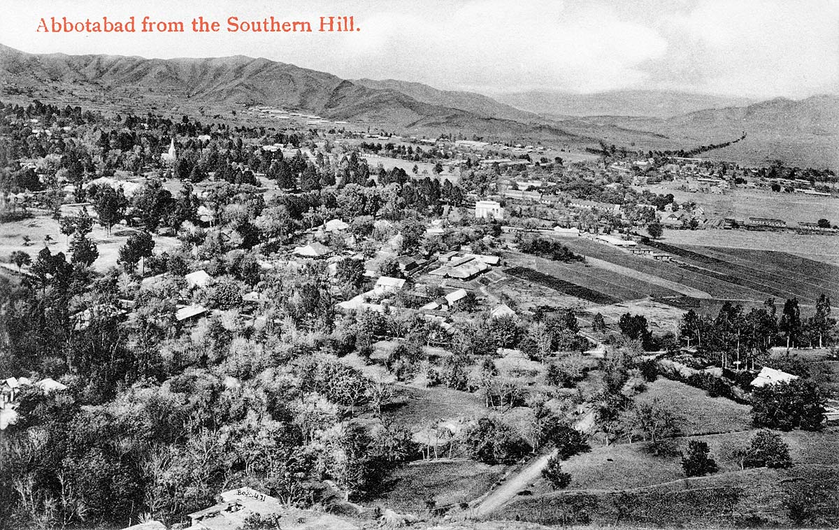 Abbottabad from the Southern Hill