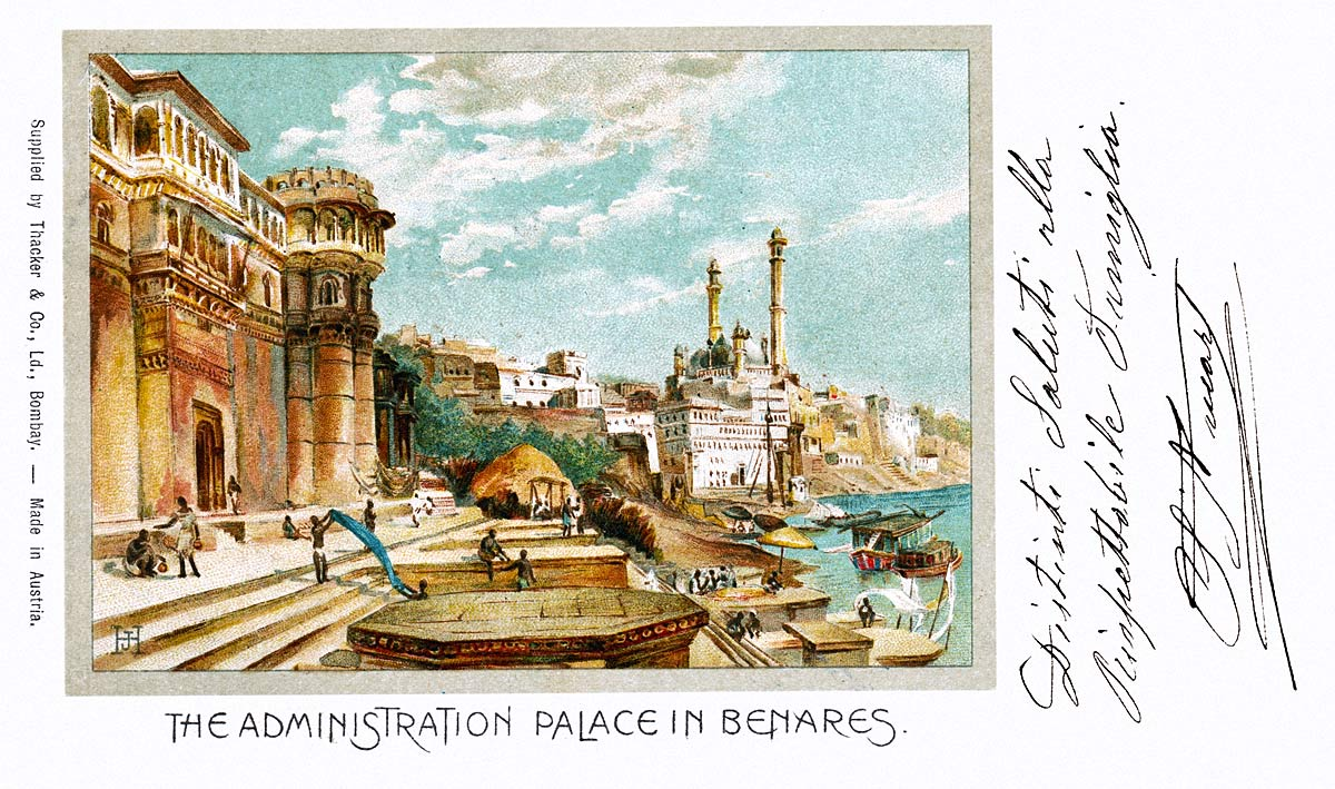 The Administration Palace in Benares