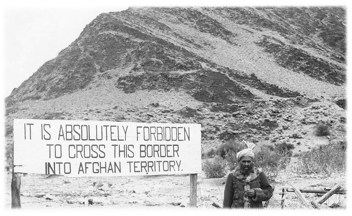 [Afghan Territory Border with British India]