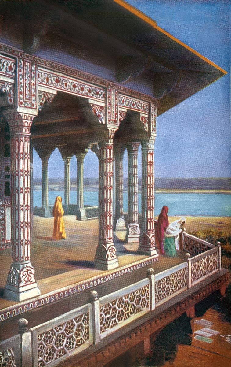 Exterior of Zenana, Agra.