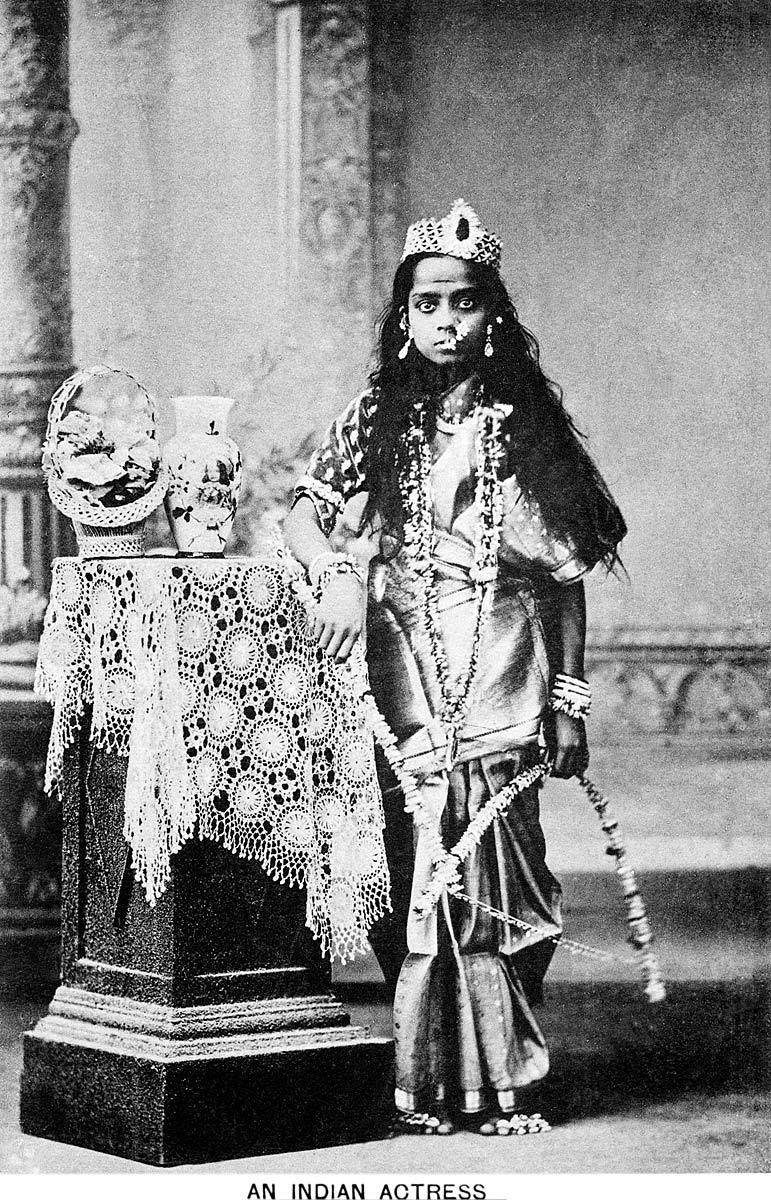 An Indian Actress