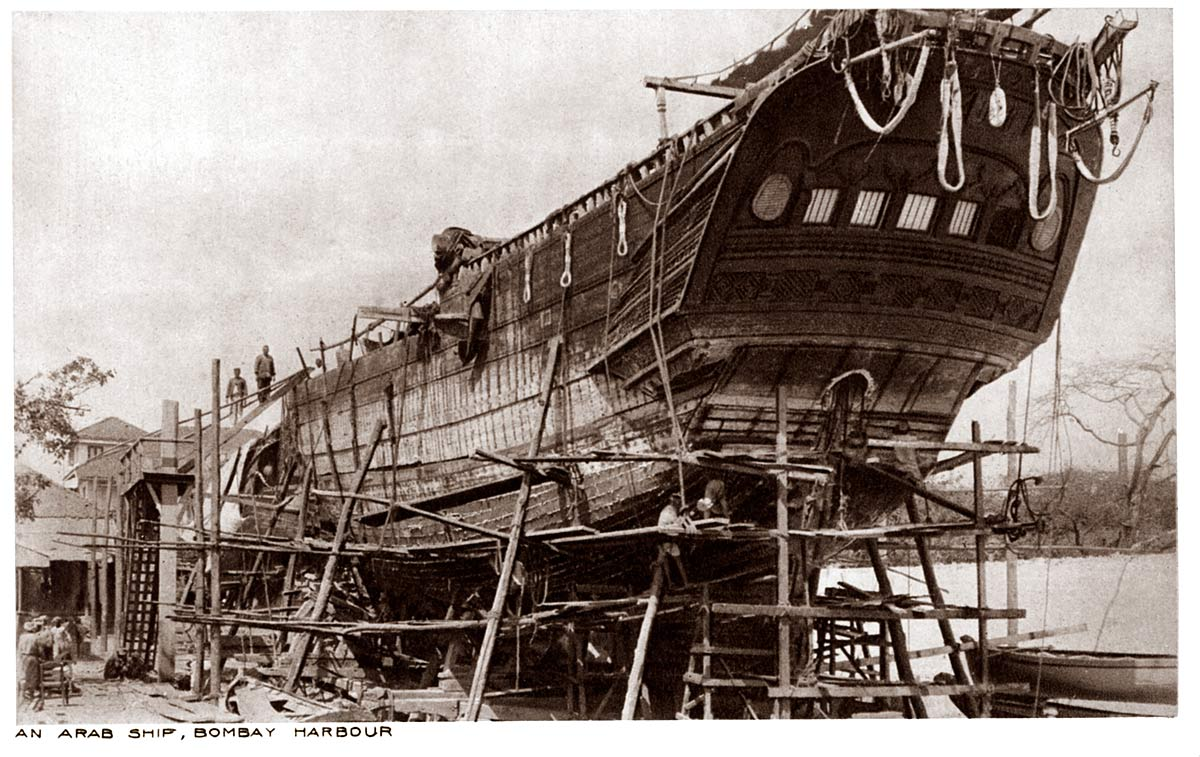 An Arab Ship, Bombay Harbour