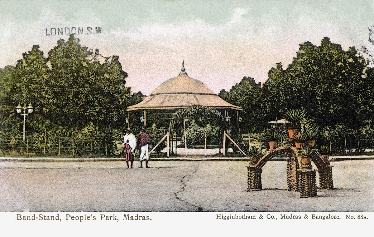 Band Stand, People's Park, Madras
