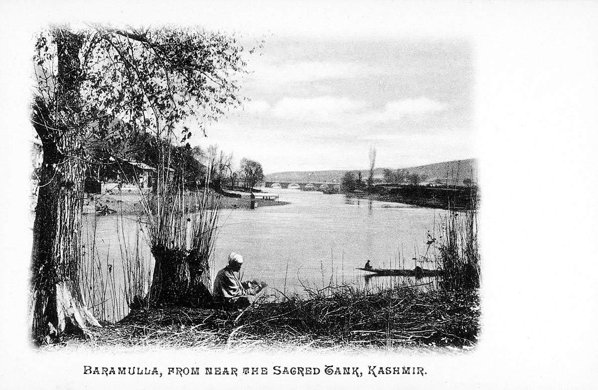 Baramullah, from near the Sacred Tank, Kashmir.