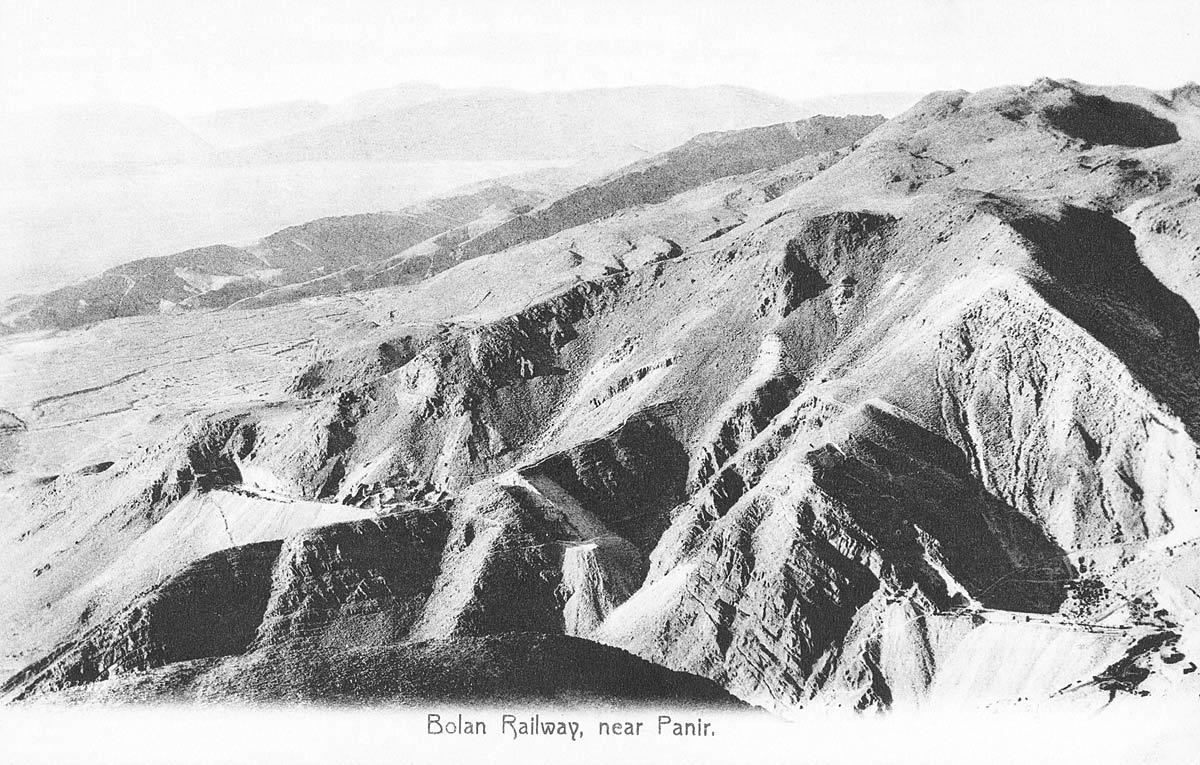 Bolan Railway, near Panir