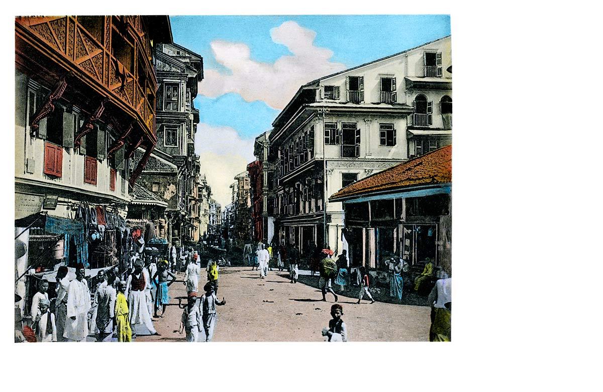 Bombay Native Bazaar