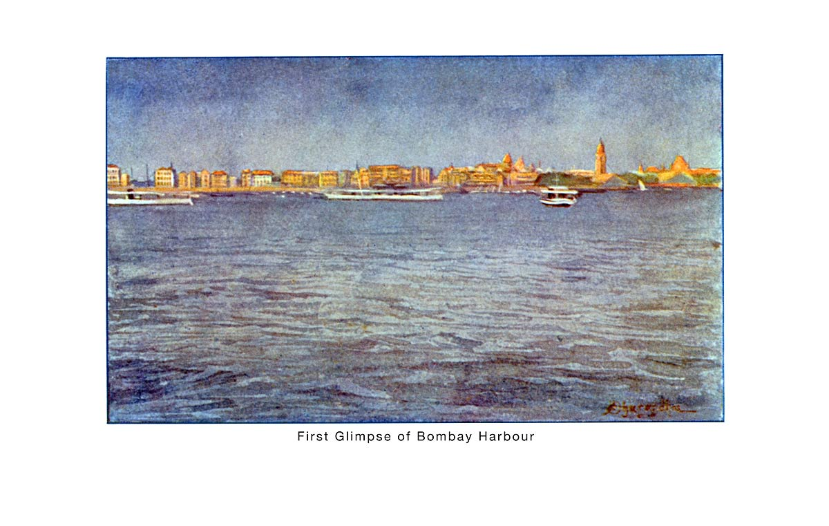 First Glimpse of Bombay Harbour
