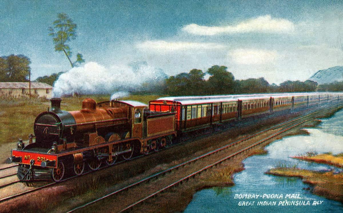 Bombay-Poona Mail. Great Indian Penninsular Railway