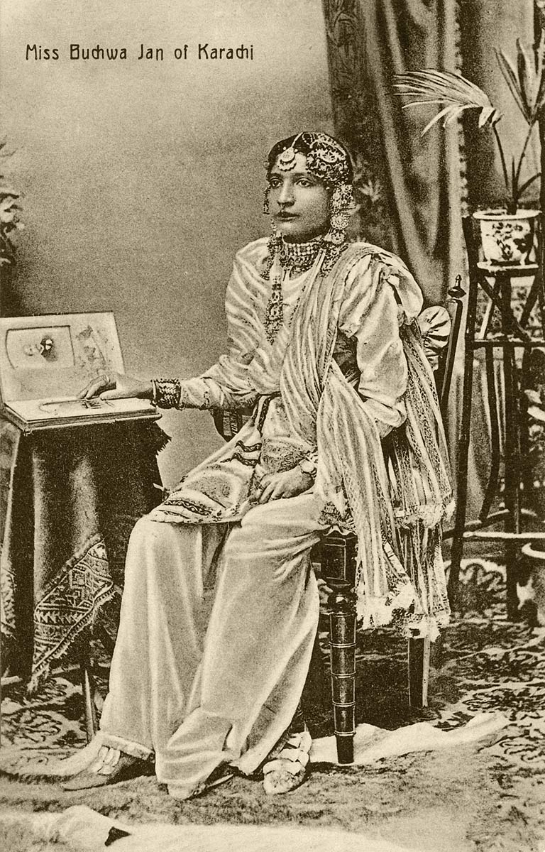 Miss Buchwa Jan of Karachi