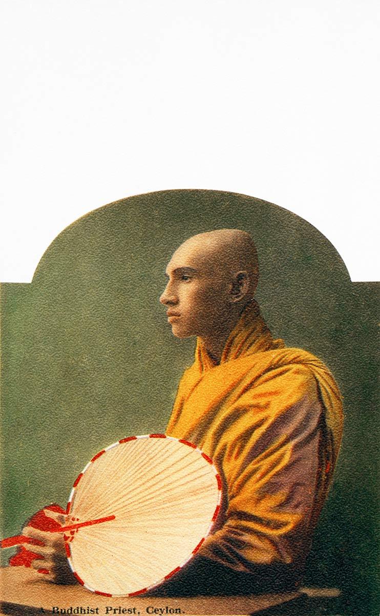 A Buddhist Priest, Ceylon