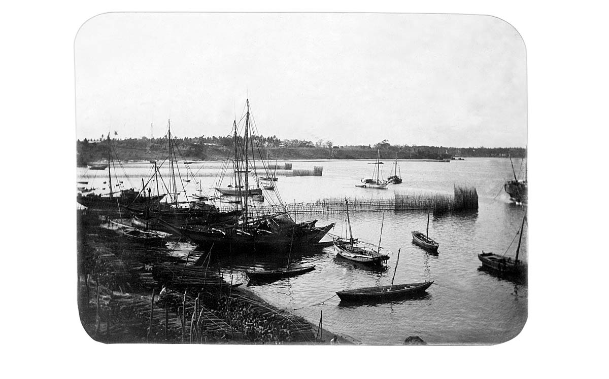[Calcutta Harbour on the Hooghly]