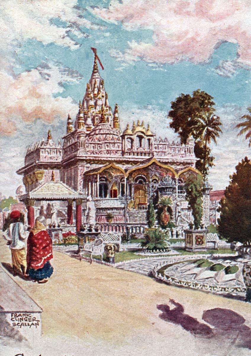 Calcutta, The Jain Temple