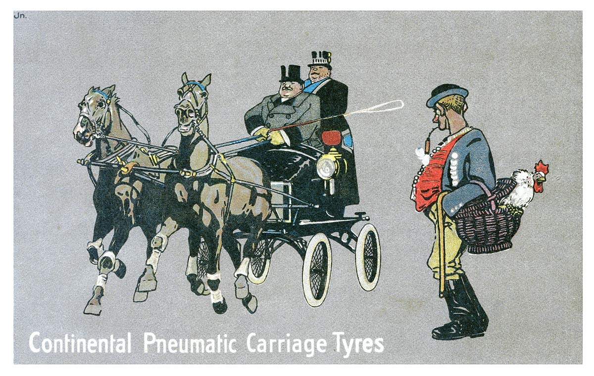 Continental Pneumatic Carriage Tyres