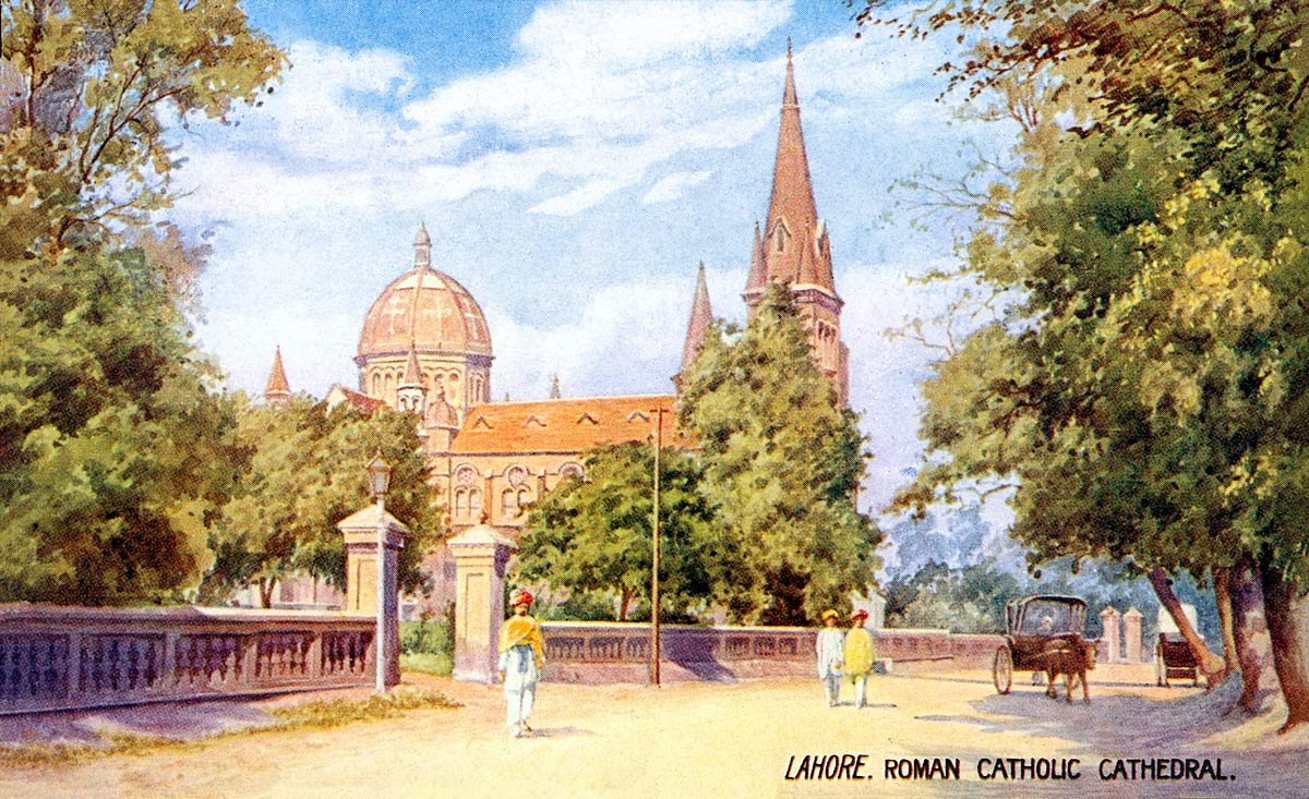 Lahore. Roman Catholic Cathedral.