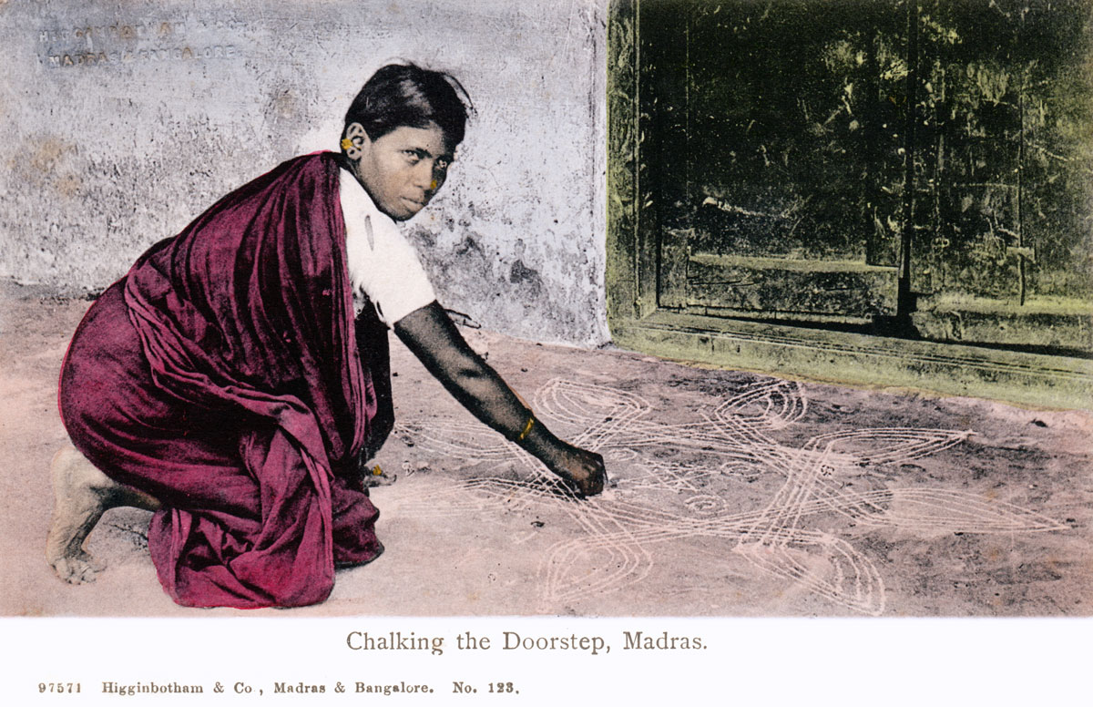 Chalking the Doorstep, Madras