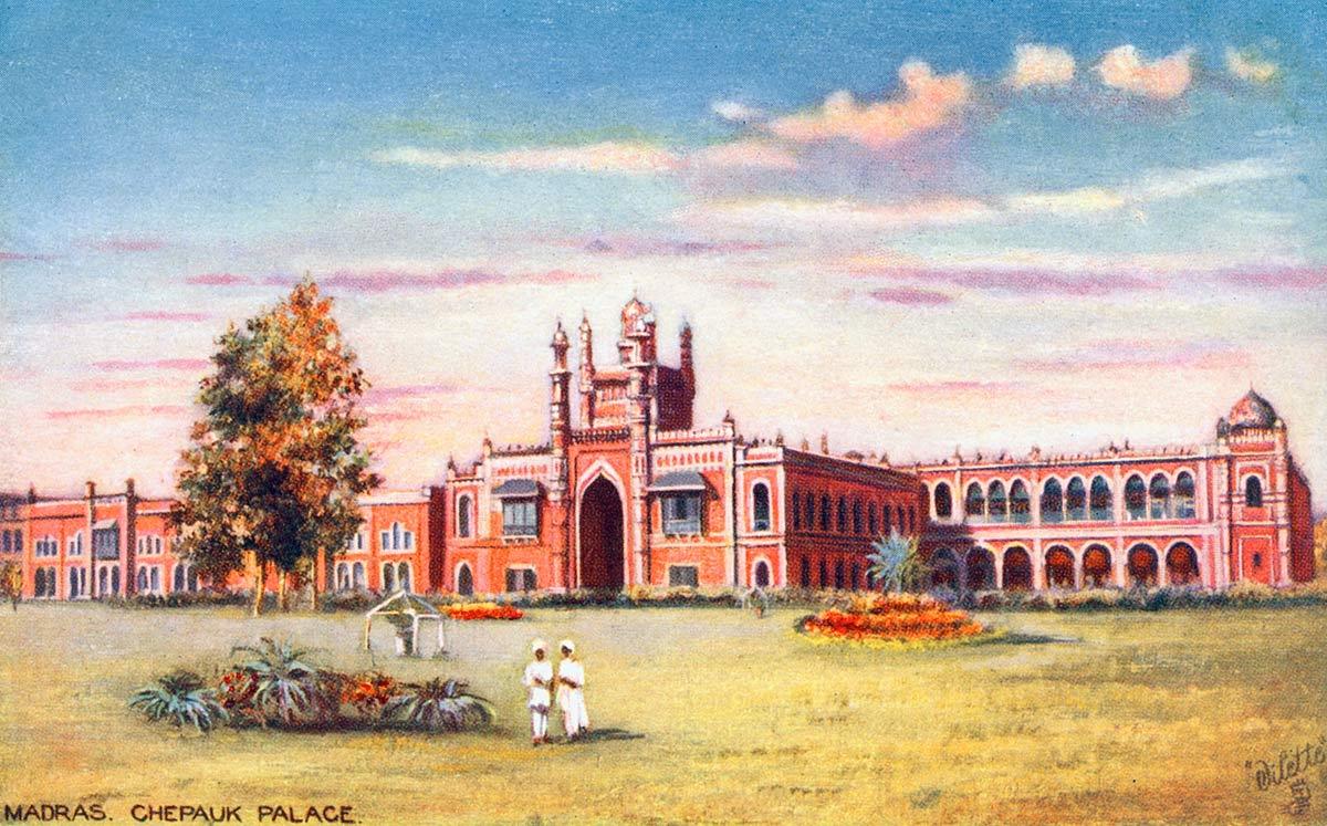 Madras. Chepauk Palace.