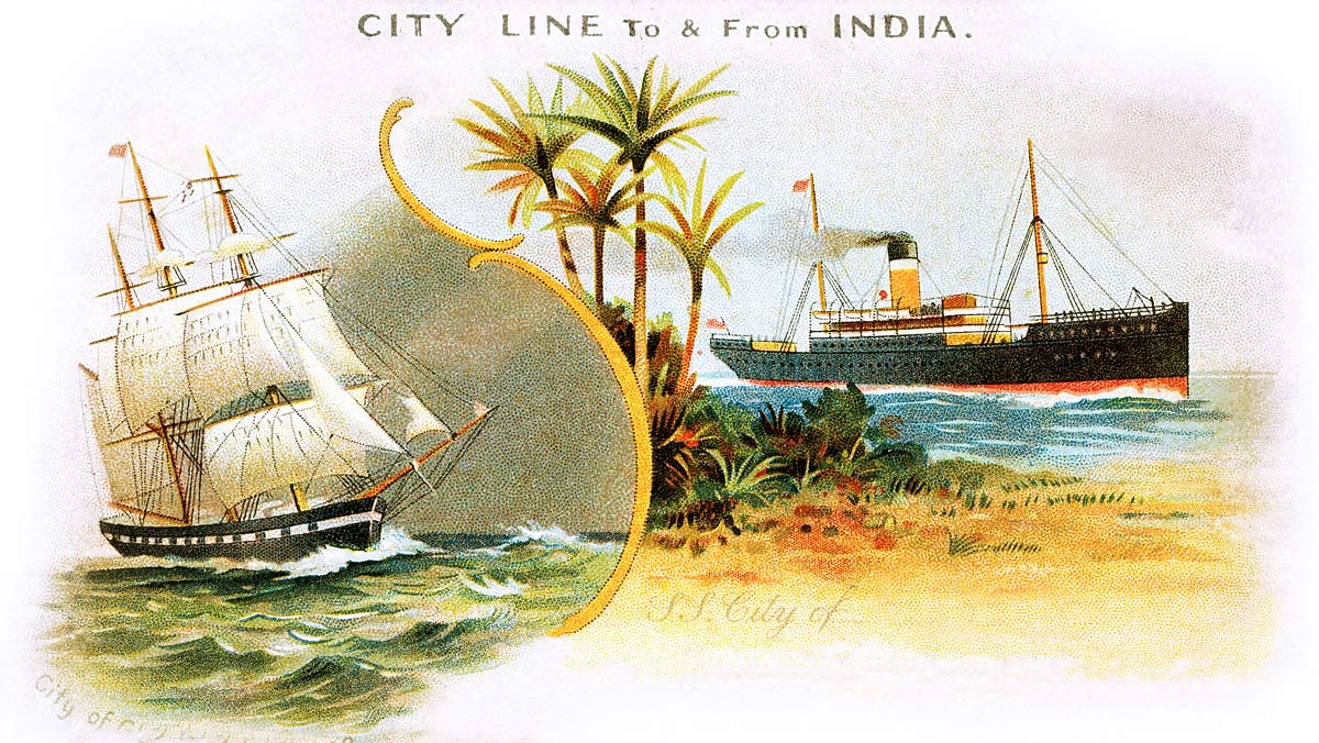 City Line To and From India