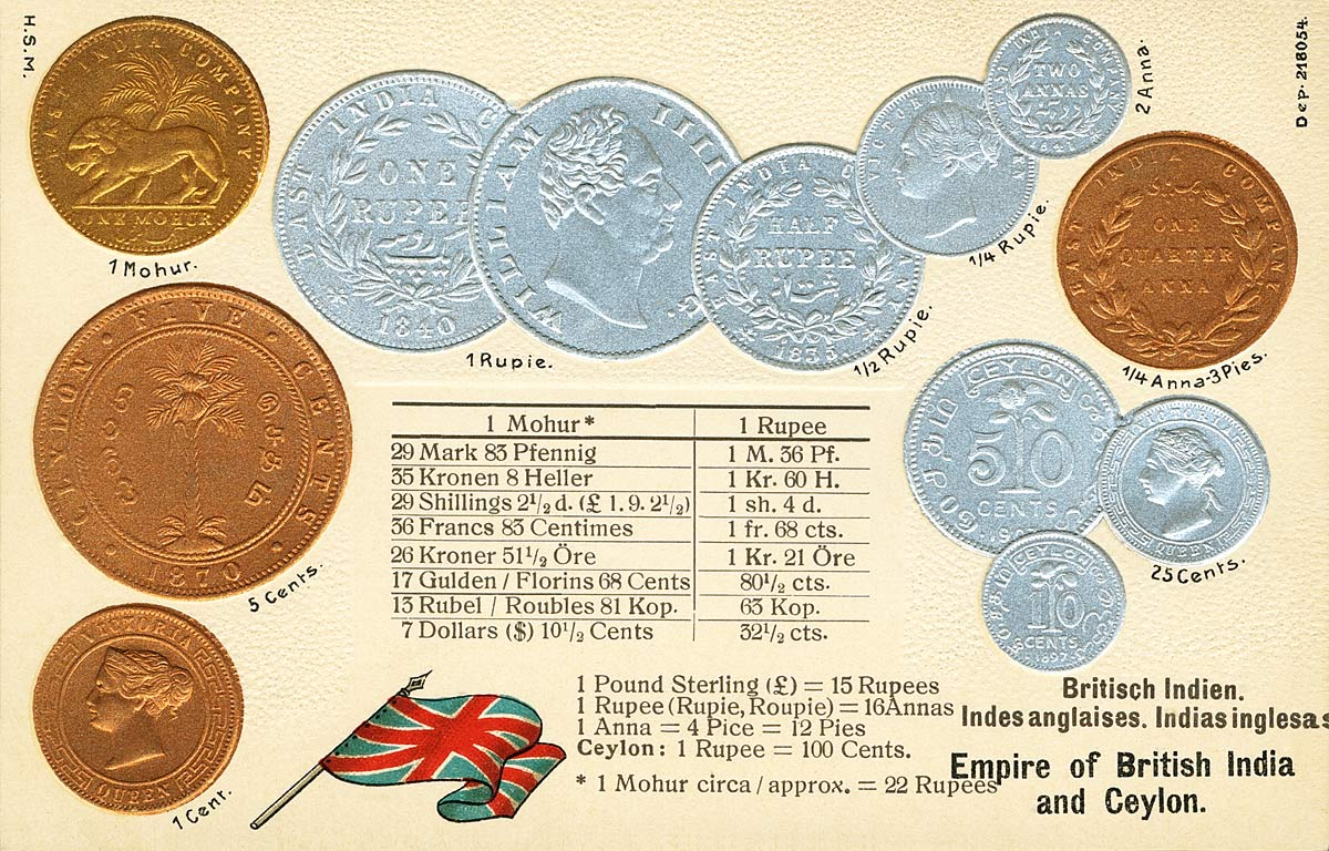 Empire of British India and Ceylon [Coins]