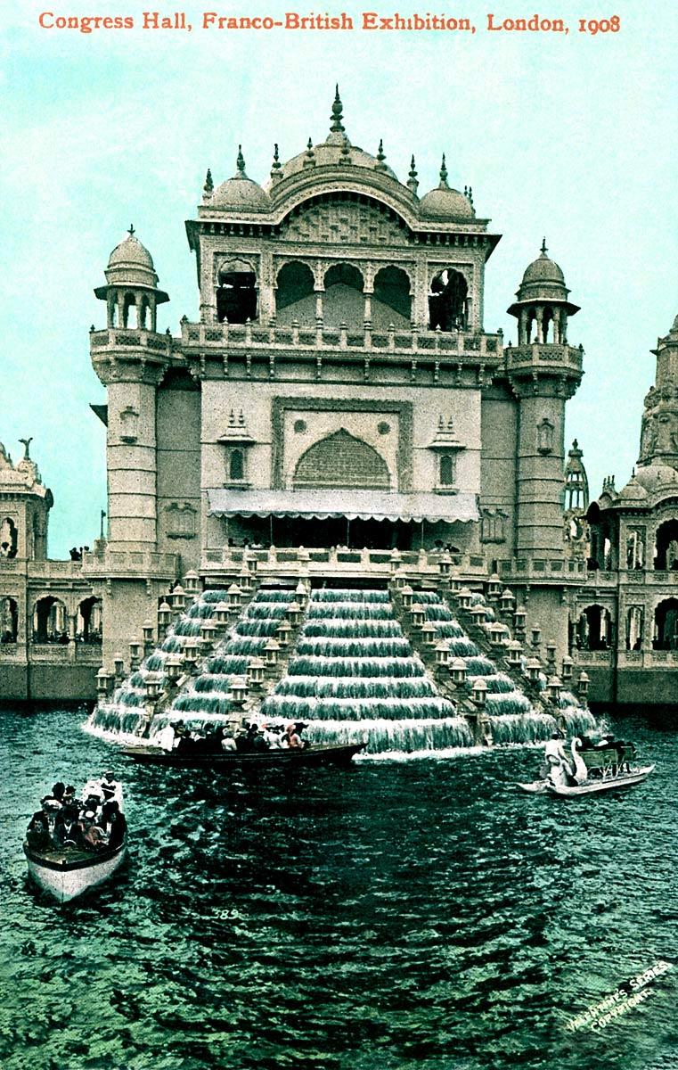 Congress Hall, Franco-British Exhibition, 1908