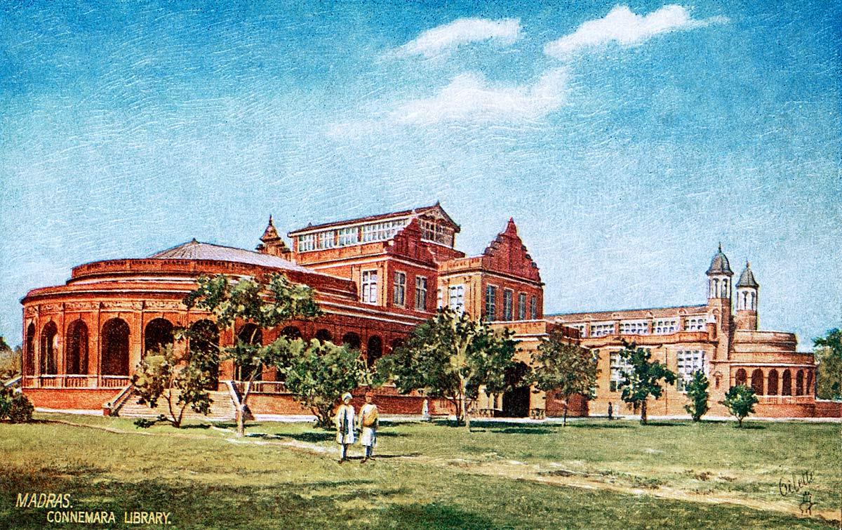 Madras. Connemara Library.