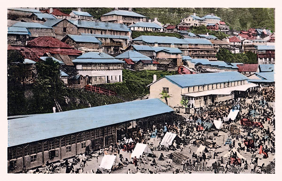 Darjeeling. The Bazaar.