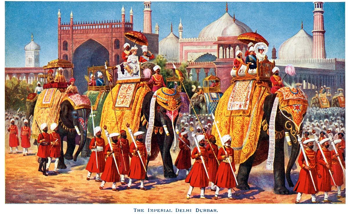 The Imperial Delhi Durbar