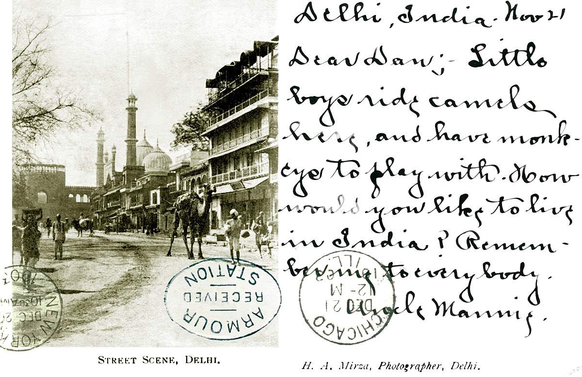 Street Scene, Delhi.