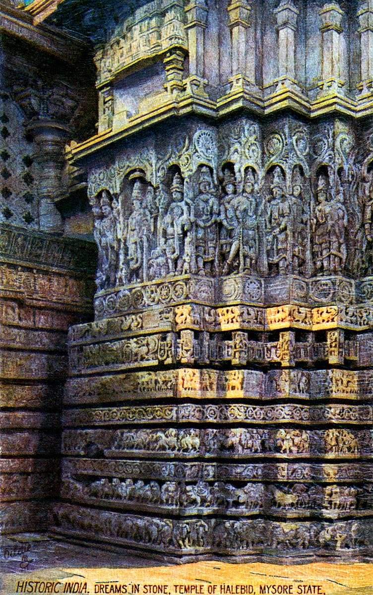 Dreams in Stone, Temple of Halebid, Mysore State.