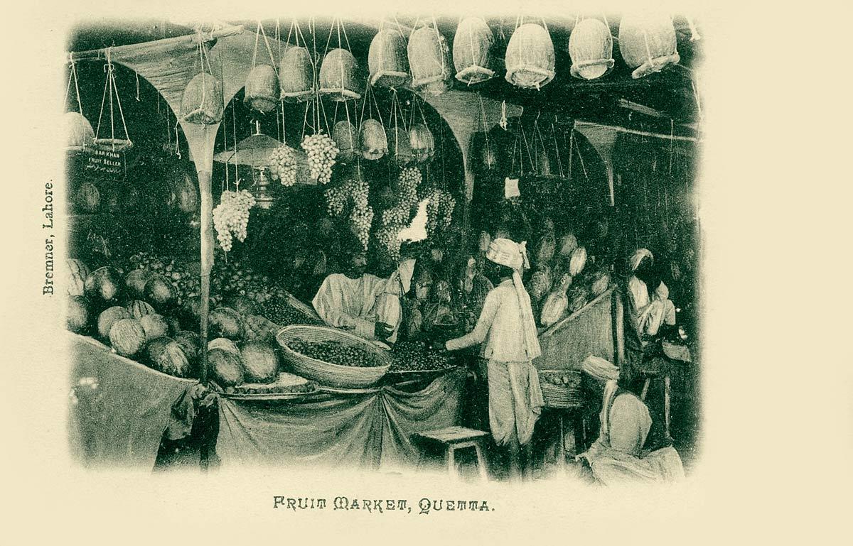 Fruit Market, Quetta
