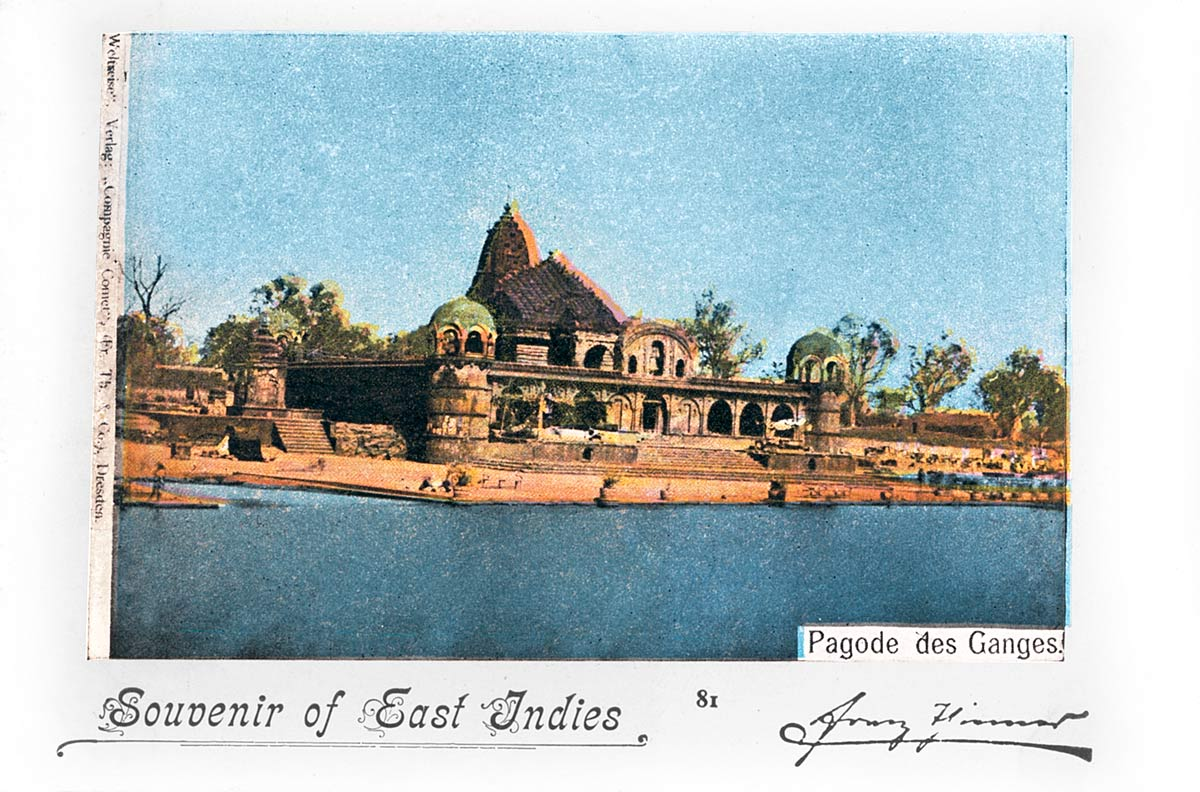 Souvenir of East Indies Ganges Pagoda