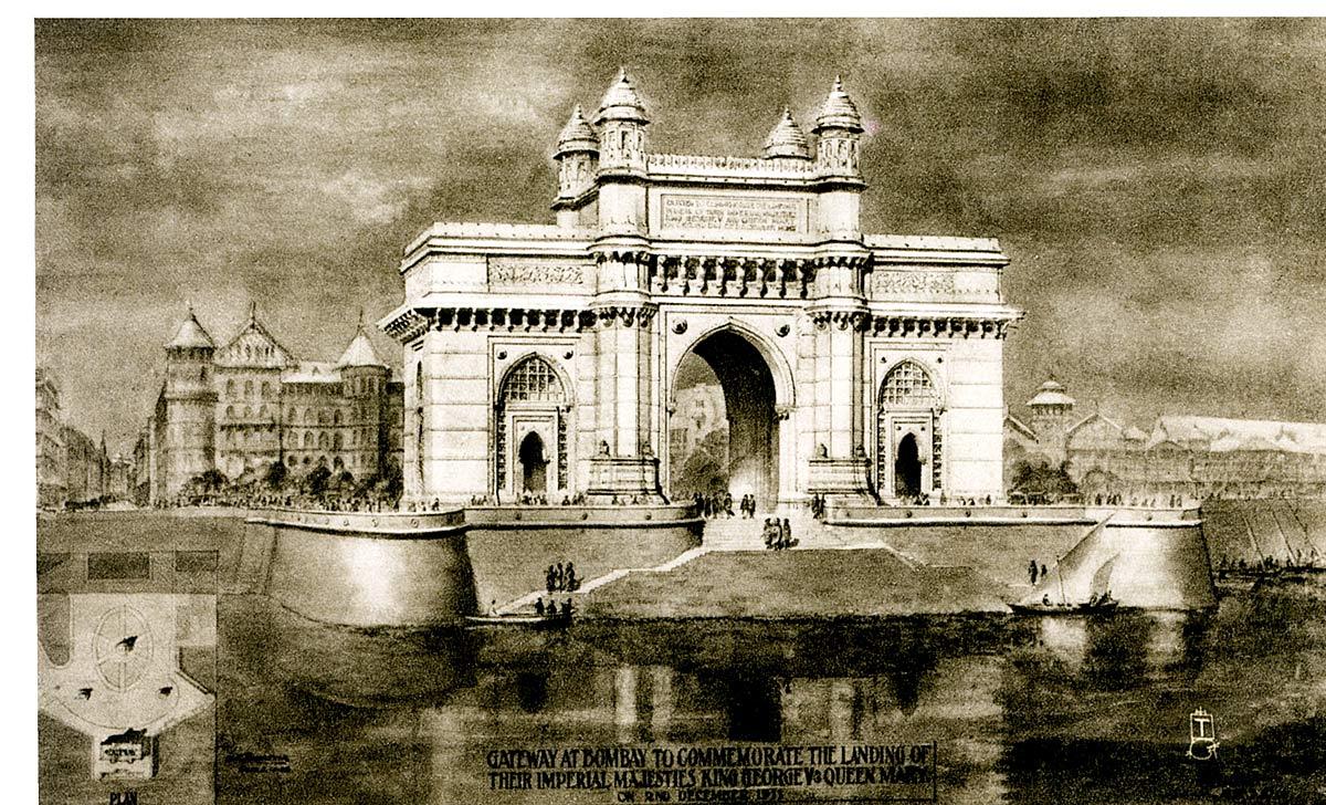 Gateway at Bombay . . .