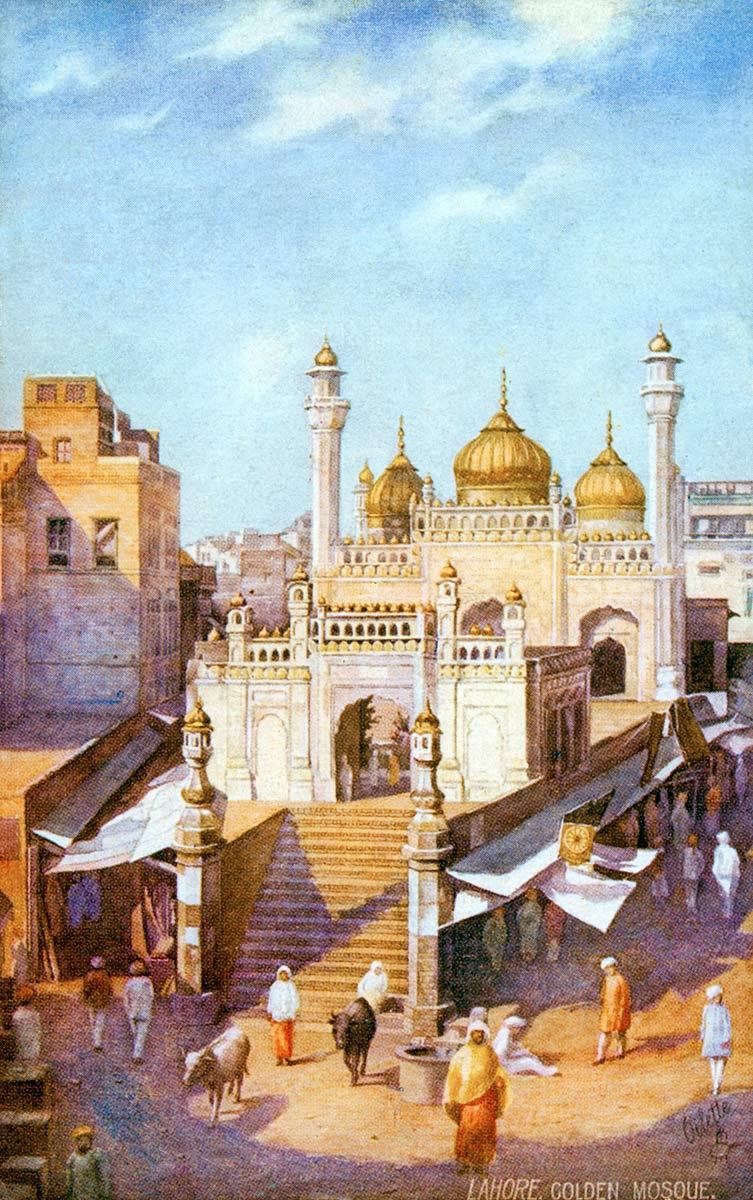 Lahore. Golden Mosque.