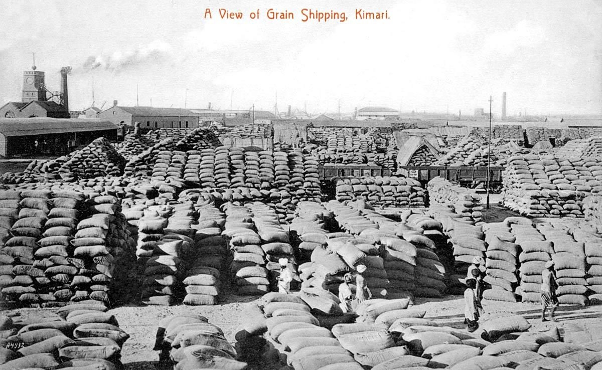 A View of Grain Shipping Kimari
