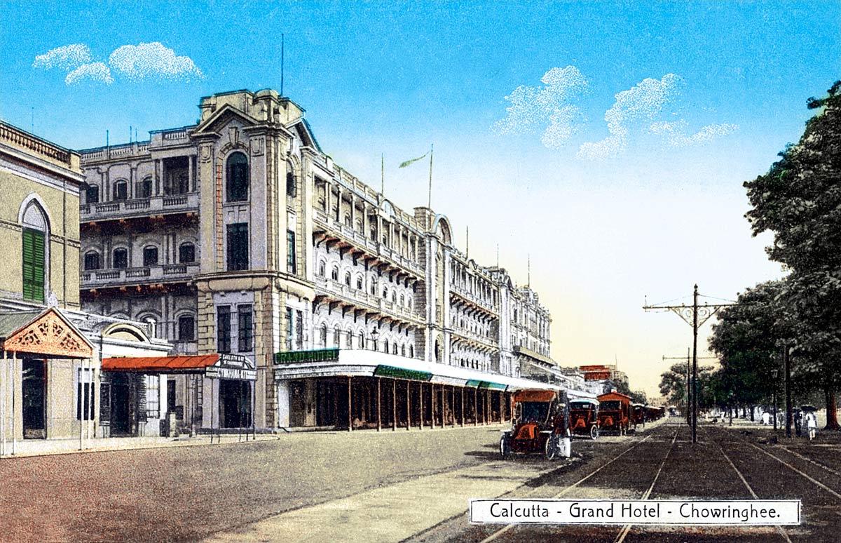 Calcutta - Grand Hotel - Chowringhee