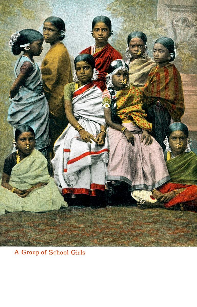 A Group of Schoolgirls
