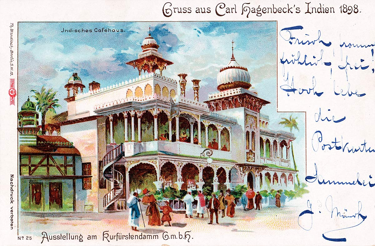 Greetings from Carl Hagenbeck's India 1898