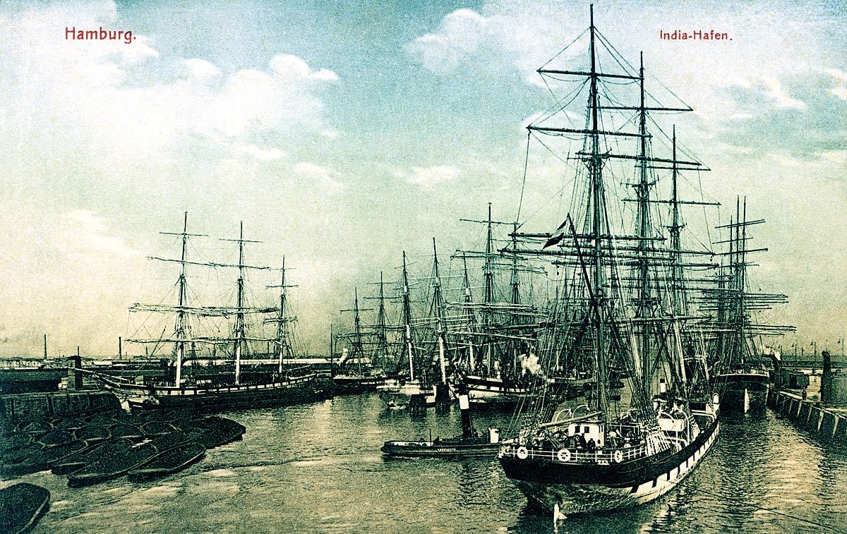 Hamburg. India Docks