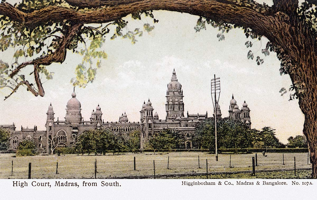 High Court, Madras, from South