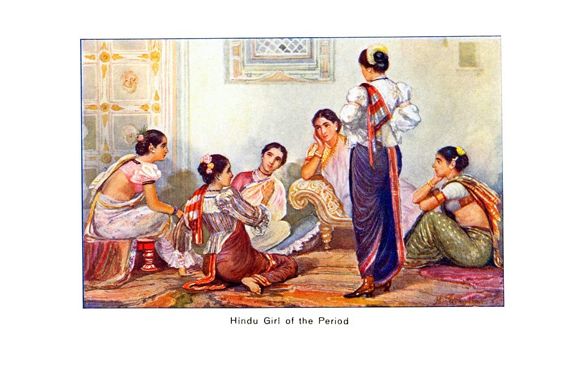 Hindu Girl of the Period