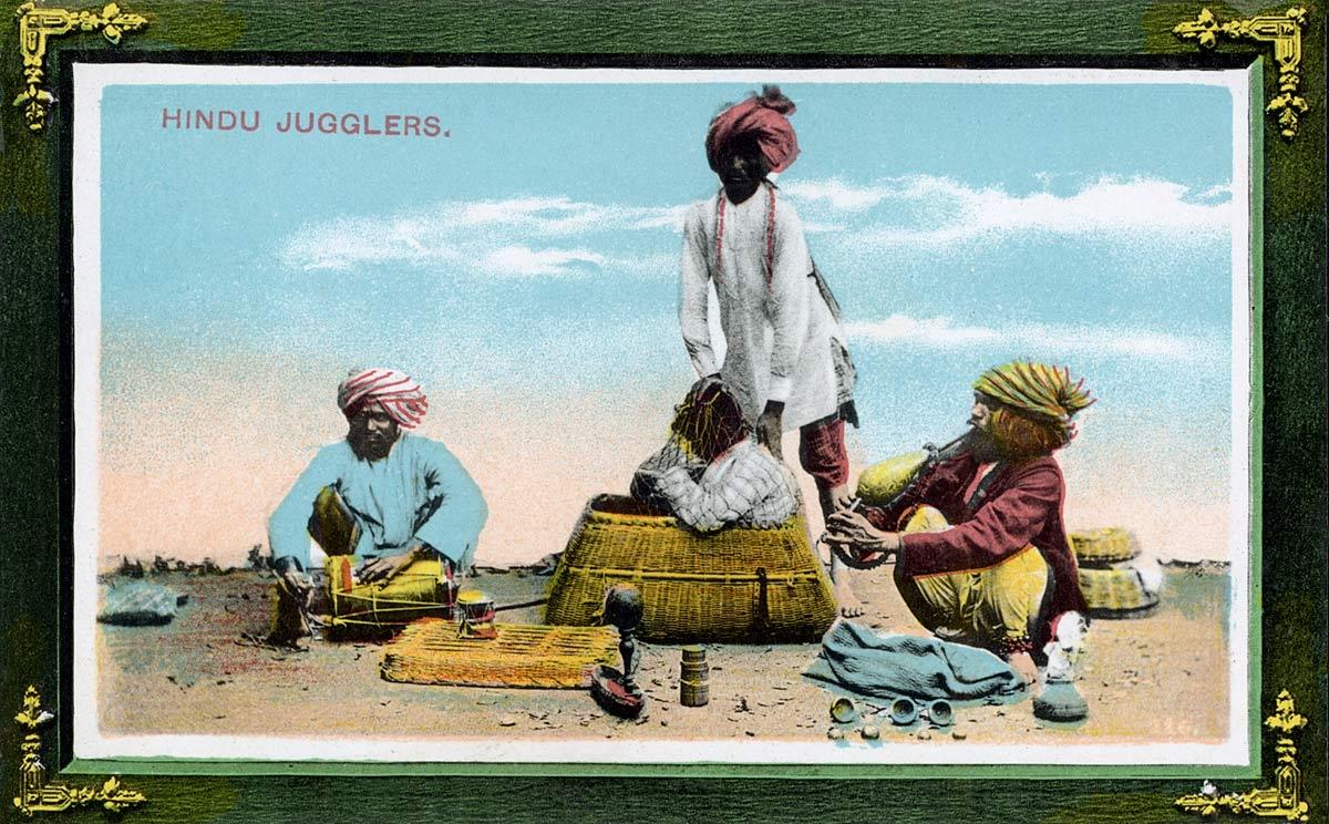 Hindu Jugglers