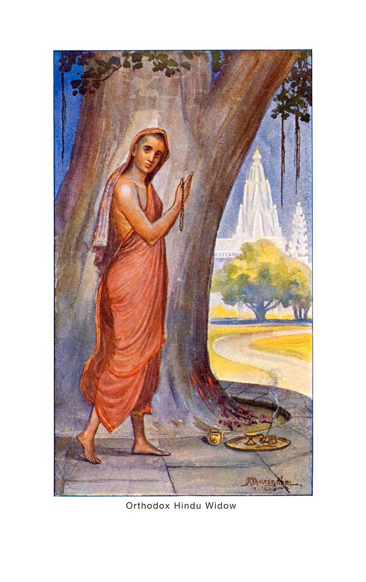 Orthodox Hindu Widow