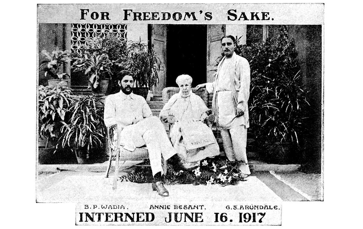 Home Rule League, Madras