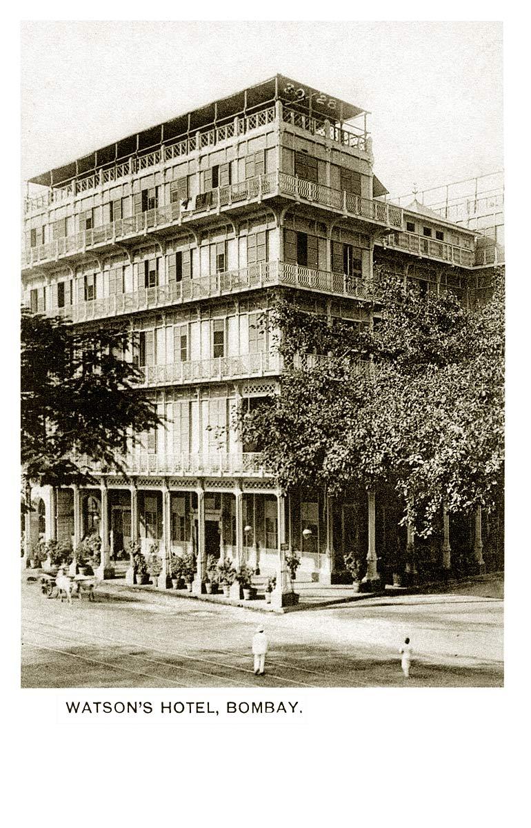Watson's Hotel, Bombay.