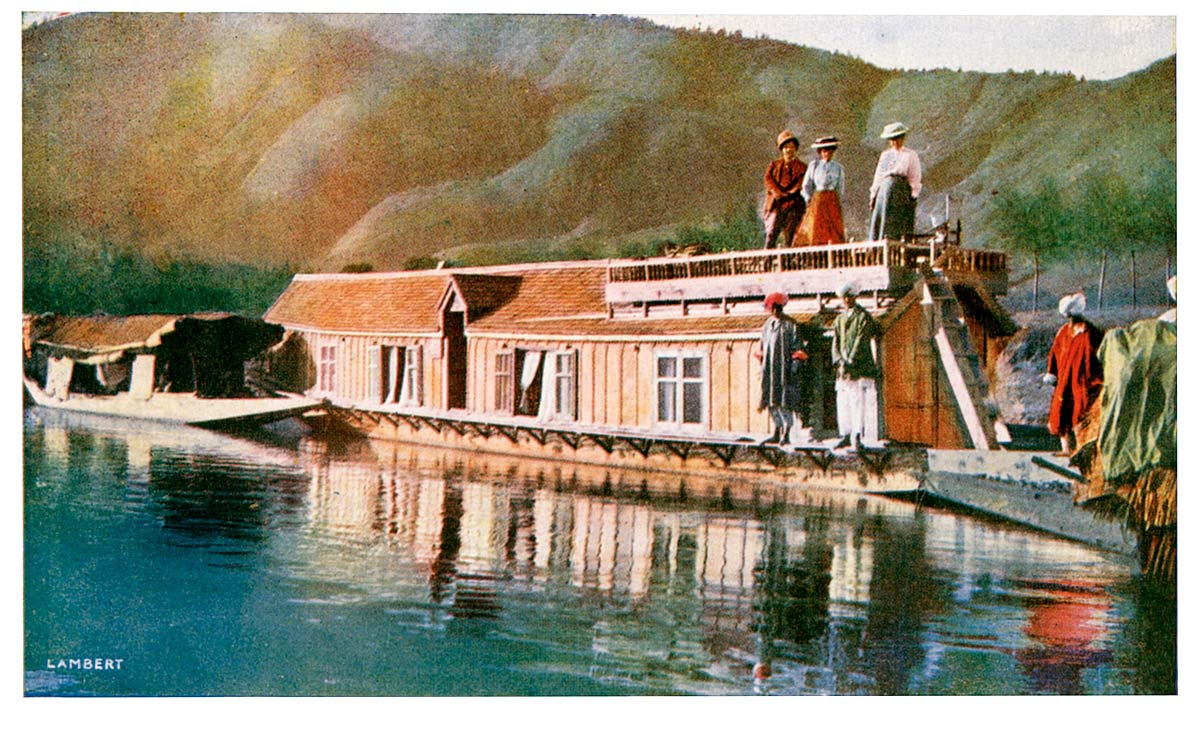A Houseboat at Baramulla, Kashmir