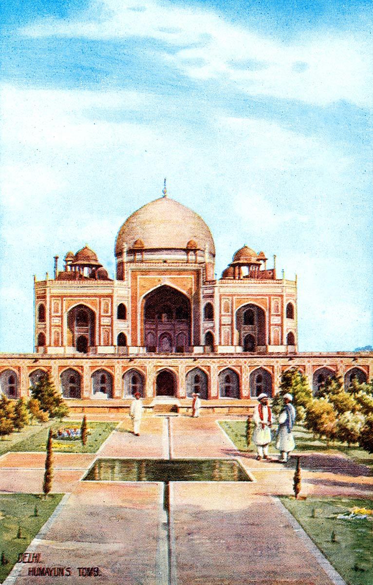 Delhi. Humayun`s Tomb.