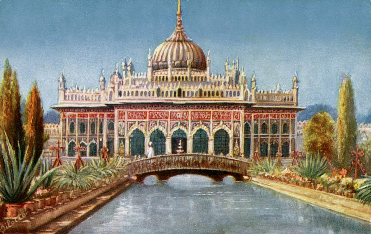 The Hooseinabad, Lucknow.