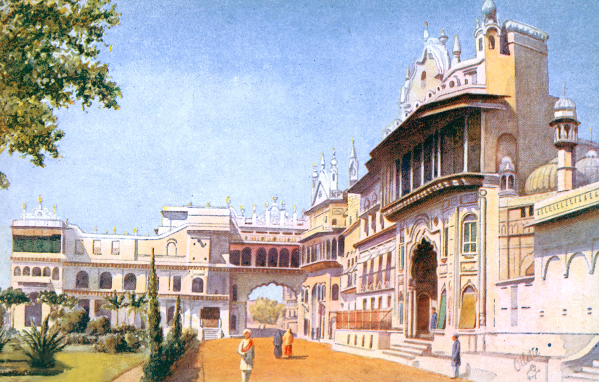 Bhopal Palace, Main Entrance